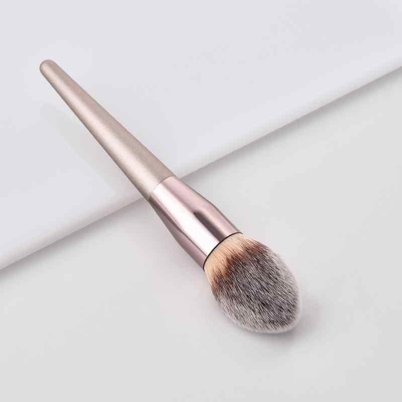 1 قطعة الشعر الاصطناعية المهنية و المهر woodenbase التجميل الحاجب عينيه فرشاة فرشاة للمكياج مجموعات أدوات