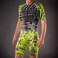 Wattie inkt lycra aero huid pak fietsen sets racing ropa ciclismo bicicleta mannen body slijtage triatlon pak badmode een stuk