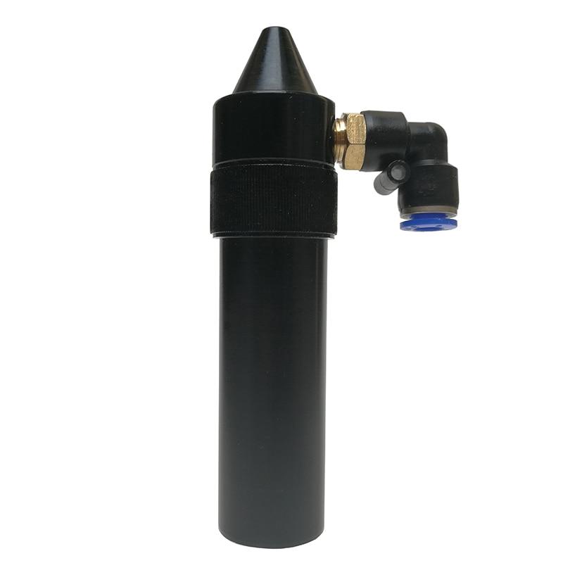 1set CO2 Laser Head Lens Tube+Air Nozzle+Laser Output Lens Diameter 20mm Focal Length 50.8/63.5/101mm Engraving Cutting Machine