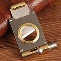 COHIBA резак для сигар Карманный металлический резак для сигар острое лезвие из нержавеющей стали гильотина для сигар портативный