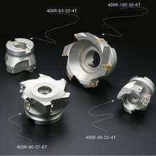 Faca bap400r 40 50 63 80 100 apkt1604/apmt1604 discos de trituração cnc máquina ferramenta faca inserir a lâmina do carboneto