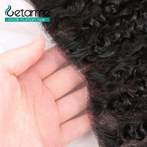 Image 5 - Gemarme extensiones de cabello humano rizado 13x4 con cierre Frontal de encaje, cabello humano Remy brasileño, con mechones