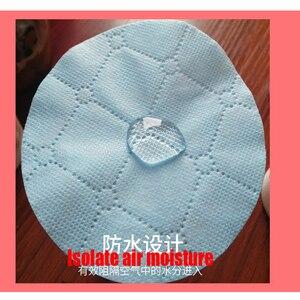 Image 4 - 50 pièces/sac trois couches masque Non tissé cale de protection filtre à Air