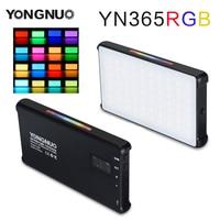 YONGNUO YN365 RGB 12W LED Video Licht Bunte Fotografie Video Beleuchtung Studio DSLR Kamera Licht für Vlogging Live Sony nikon-in Fotolampen aus Verbraucherelektronik bei