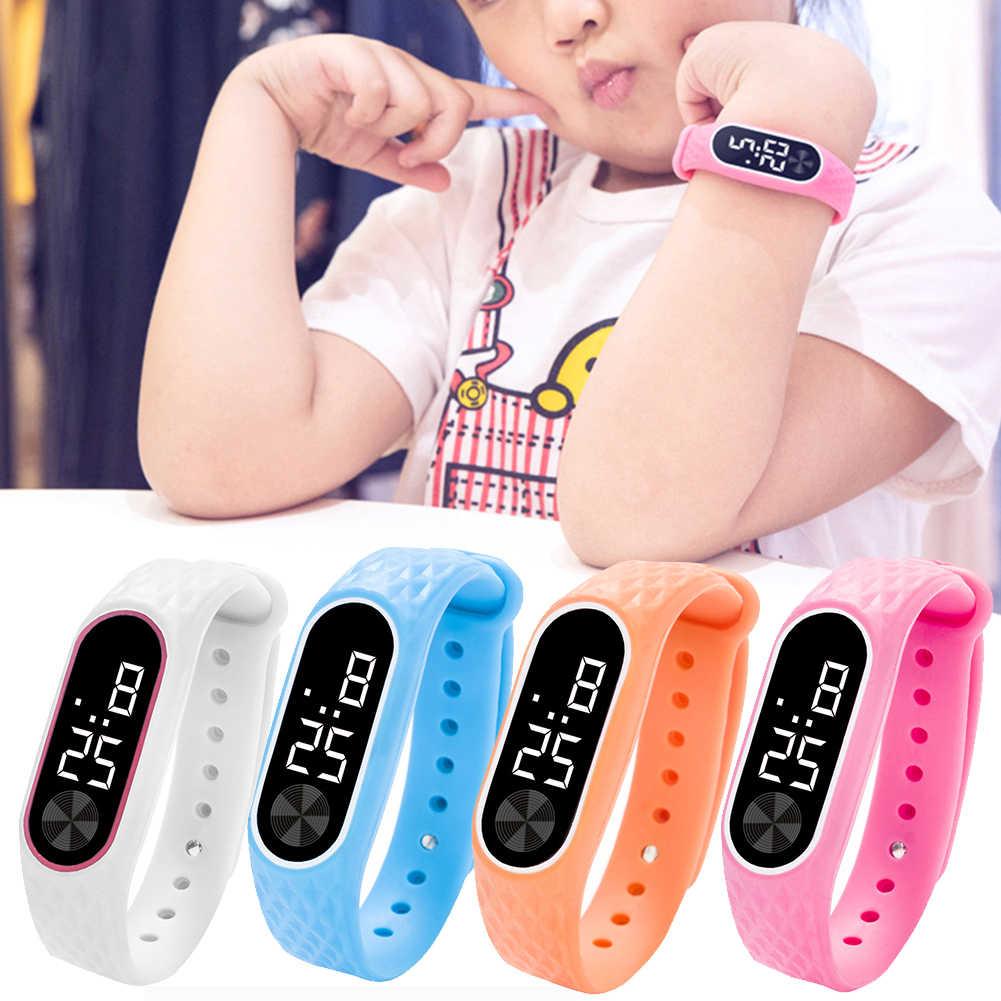 Bambini Della Vigilanza Del Braccialetto LED Digital di Sport Orologio Da Polso Per Il Bambino Delle Ragazze Dei Ragazzi Nuovo Orologio Elettronico Relogio Reloj Infantil montre