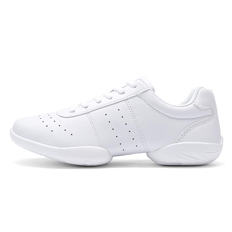 Children Training Athletics Aerobics Shoes Women Breathable Fitness Sneakers Girl Soft Bottom Ladies Non slip Dance Sports Shoes