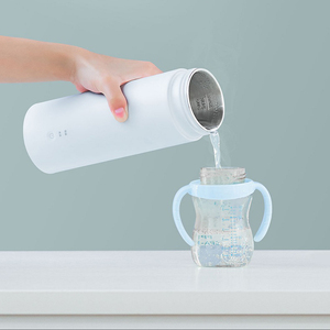 Image 4 - Youpin Viomiสมาร์ทไฟฟ้าถ้วย 400MLมินิแบบพกพาถ้วยความร้อนฉนวนกันความร้อนสแตนเลสThermosขวดไฟฟ้าถ้วยท่องเที่ยว