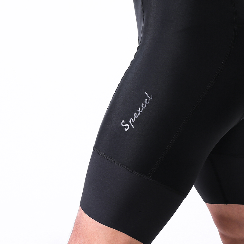 SPEXCEL SHORTS Cycling-Bottom Pro-Team with Italy High-Density Pad Race-Fit Performance-Bib