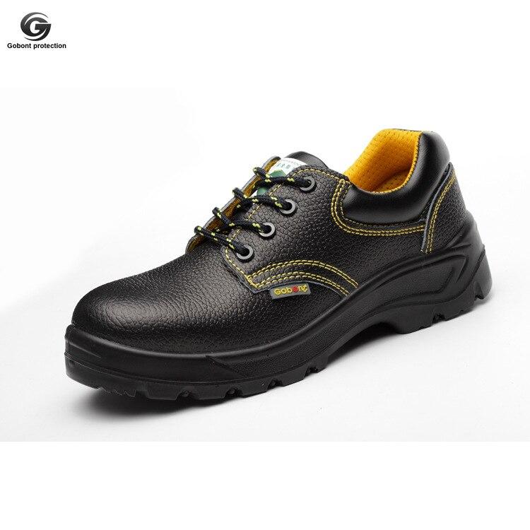 Gu bont защитная обувь Мужская износостойкая воловья кожа высокого давления ботинки с теплоизоляцией ботинки электрика 6kv Мужская
