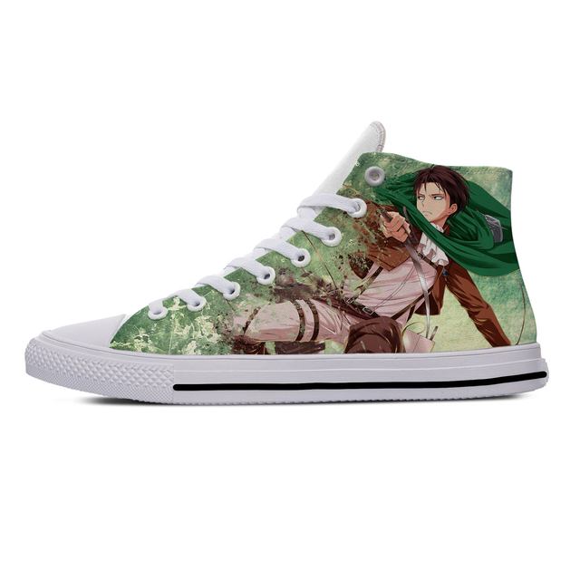 ATTACK ON TITAN THEMED HIGH TOP SHOES (11 VARIAN)