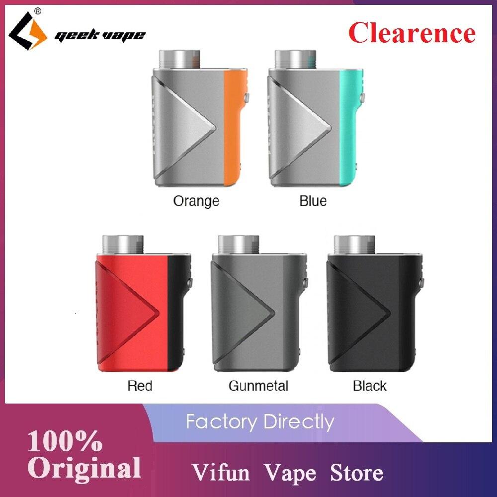 Original Geekvape Lucid Mod Vape 80W Box Mod No 18650 Battery Wi Advanced AS Chip Supports E-Cigarette Vape Kit Vs Aegis Boost