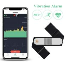 Bluetooth монитор сердечного ритма нагрудный ремень с будильником, ANT+ Водонепроницаемый Фитнес-трекер беспроводной EKG/ЭКГ рекордер Wellue VisualBeat