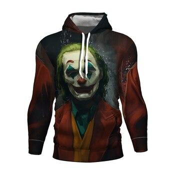 The Joker Heath Ledger Costume Dc Dark Knight Joker 3d Hoodies Joker Suit Clothing Kids/girl Sweatshirt Joker Batman Dc Clothes 1 4 scale joker heath ledger head