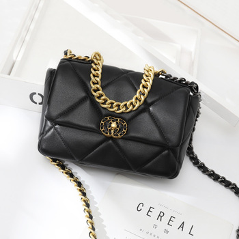 Graceful Rhombus Chain Bag New Style WOMEN Leather Bags Flap Bag crossbody bags for women luxury handbags designer handbags graceful exaggerated alloy multilayered body chain for women
