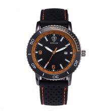 цена на 2019 Luxury Brand Men Watches Male Clock Casual Silicone Quartz Wristwatch Men's Sport Watch relogio masculino erkek kol saati