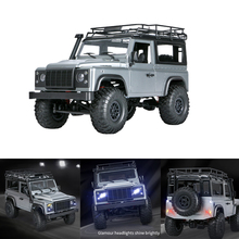 MN99S Gift Rechargeable Battery Boys Toy Vehicle Kids 4WD Crawler 1/12 LED Light