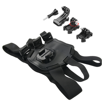 цена на Adjustable Fetch Dog band for Gopro hero 8 7 6 5 4 Dog harness Chest Belt Strap Sports camera Mount Holder for SJCAM for Xiaoyi