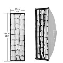 Meking 30cmx90cm Grid for Softbox Honeycomb Light Modifier Flash Lighting Photo Studio Accessories Professional Shooting cheap Selens 30cmx90cm 11 8 x35 4 Honeycomb Gird