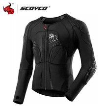 Motorcycle-Jacket Moto-Armor SCOYCO Protective-Gear Racing Jaqueta Black