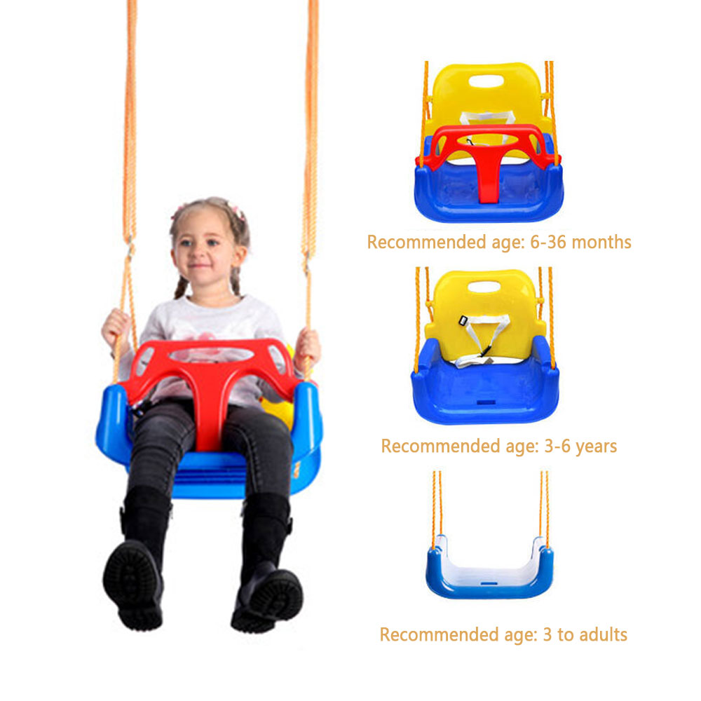 Baby Swing 3 in 1 Multifunctional Kindergarten Playground Family Space Children amusement park Outdoor Toys