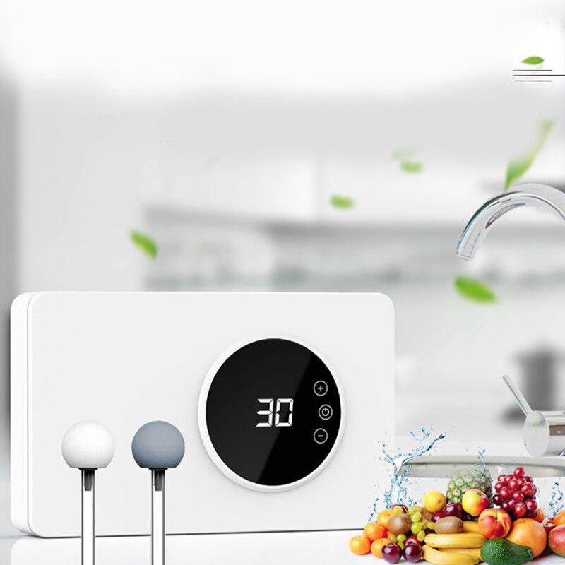 New Ozone Disinfection Machine Fruit Vegetable-Sterilizer Air Purifier-Sterilizer Timer 600Mg/H Ozone EU Plug