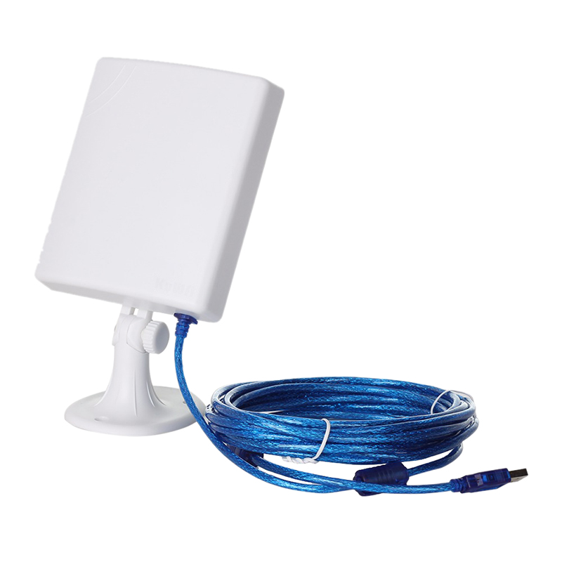 150Mbps High Gain 14DBi Antenna 5M Cable Wireless USB Adapter High Power Outdoor Waterproof Long Range Wifi Receiver