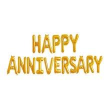 16 polegada feliz aniversário carta balões, aniversário decorações decoração da festa balões da folha suprimentos de casamento