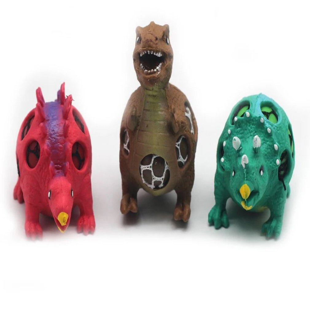 Small Size Funny Toy Grape Ball Animal Dinosaur Anti-Stress Reliever Squeeze Toys Stress Relief Healthy Toy For Kids Adult Gift