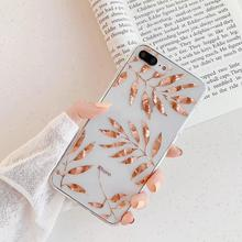 Luxury Glitter Transparent Case For iPhone