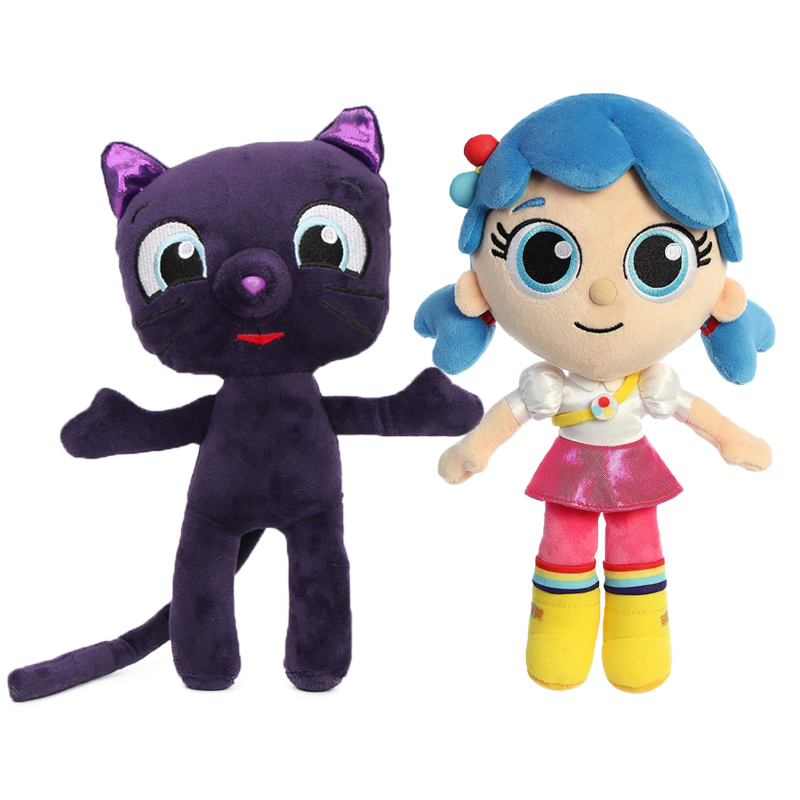25cm True And The Rainbow Kingdom Plush Toys Bartleby Cat Plush Toy Grizelda Rainbow King Zee Soft Stuffed Doll Christma Gifts