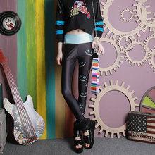Xuxi Модные женские осенние тонкие брюки длиной до щиколотки
