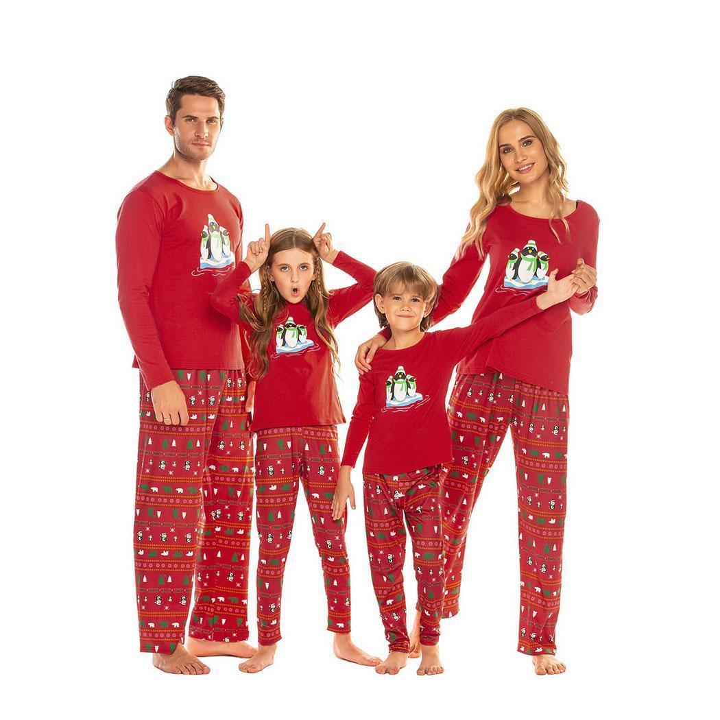 Men Casual Soft Print Long Sleeve Tops Long Nightwear, Pants Autumn, Spring, Winter Pajama Sets Sleepwear