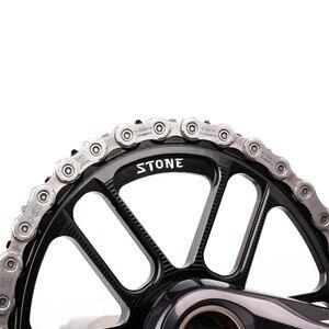 Image 4 - Plato ovalado para bicicleta de piedra, soporte directo para M9100, M8100, M7100, refuerzo de Dientes anchos estrecho, 30T 40T, 12 velocidades