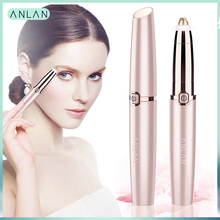 Rechargeable Electric Eyebrow Trimmer Makeup Painless Eye Brow Mini Shaver Razors Portable Facial