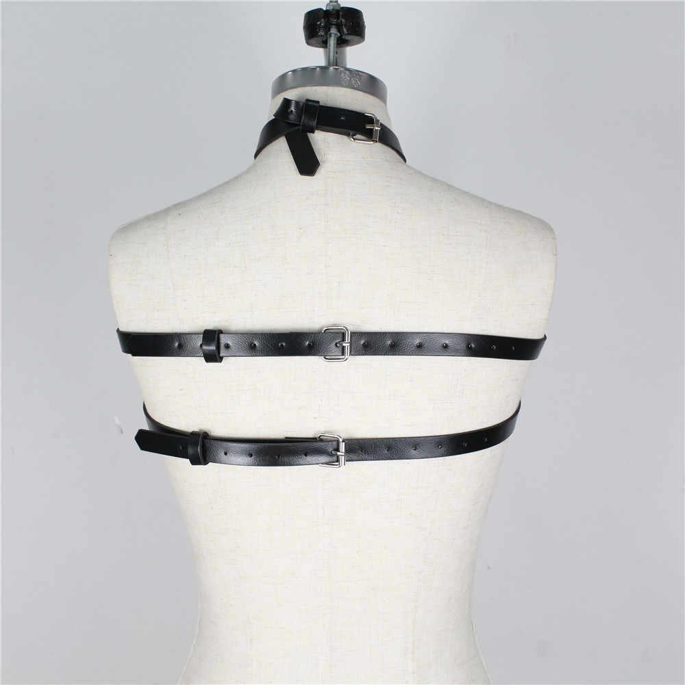 革ロープ、セクシー、スリング、パンクベルトサスペンダー、アンロードスリング、セクシーなコスプレ、ビスチェコルセット、モデリングストラップ
