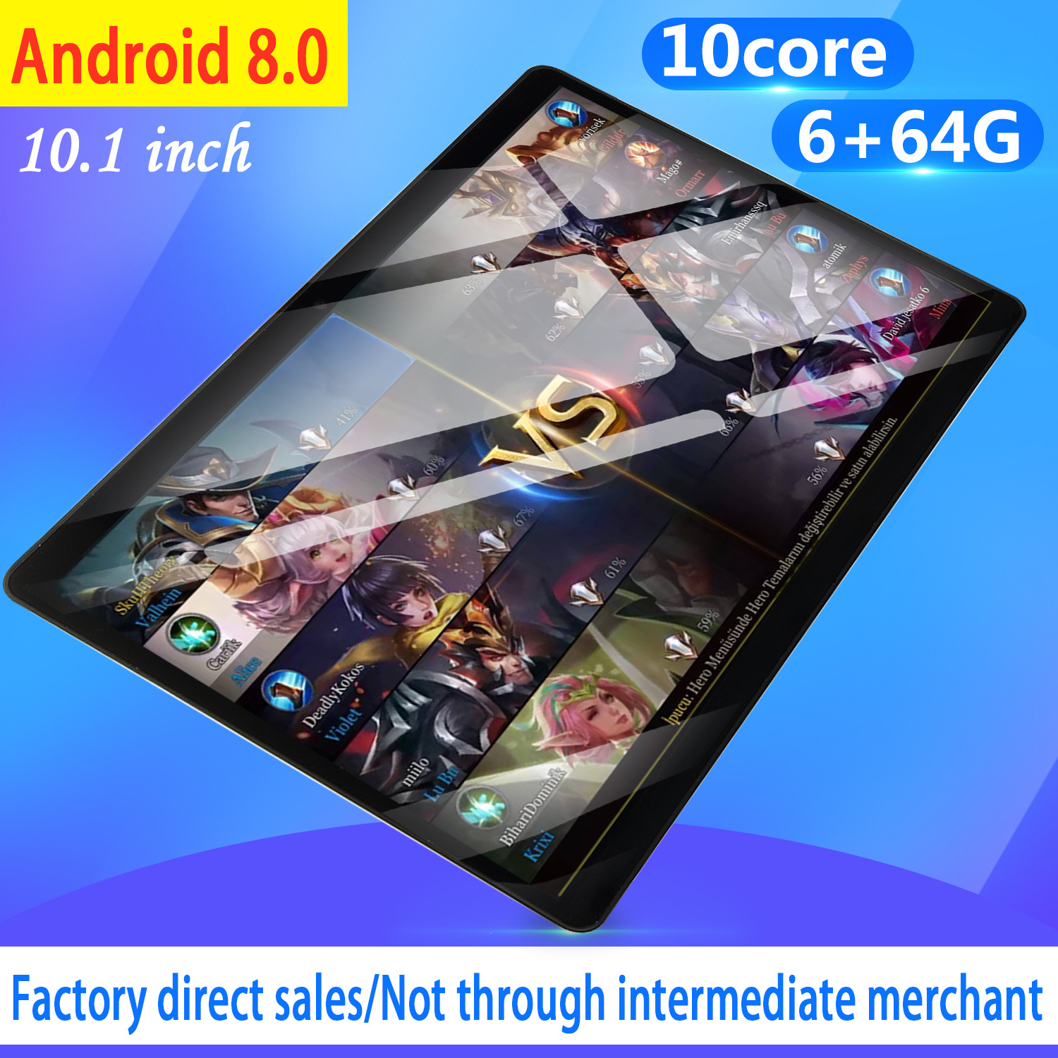 2020 Free Shipping 10 inch 4G Phone tablet PC Android 8.0 10 Core RAM 6GB ROM