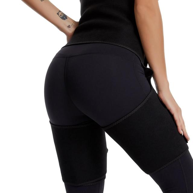 3-in-1 Abdomen Hip Belt Women Fitness Sports Burst Sweat Bodybuilding One-piece Waist Leggings Female Body Shapers Waistband 3