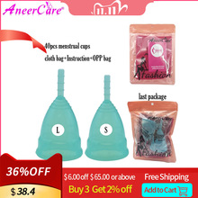 40Pcs Medical Grade Silicone Menstrual Cup Feminine Hygiene Copa Menstrual Lady Period Cup Coppetta Mestruale Coupe Menstruelle