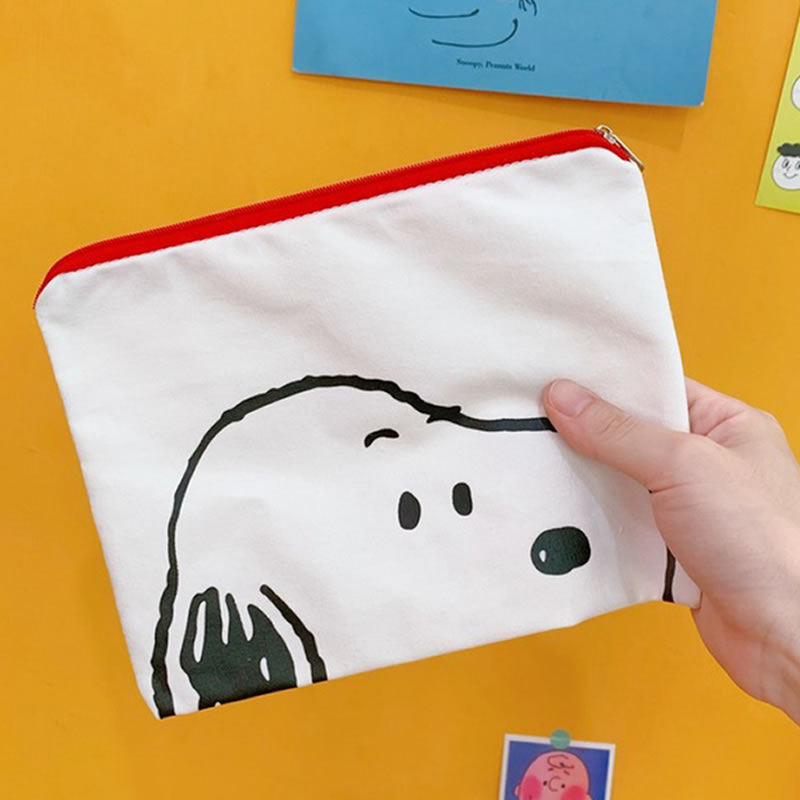 Women Cute Animal Dog Make Up Bags Cosmetic Bag Organizer Toiletry Makeup Travel Storage Girl Pouch Beauty Bath Wash Kit Case