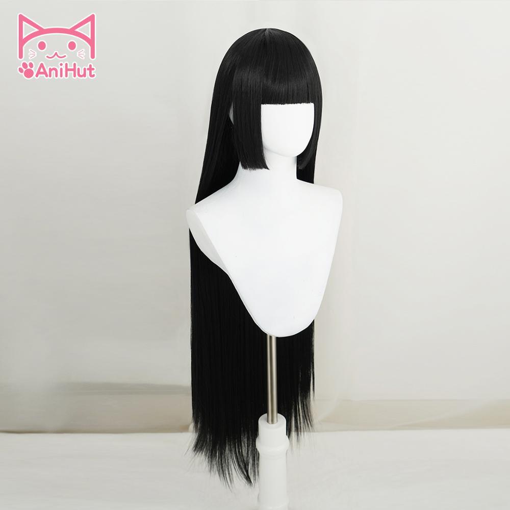 【anihut】jabami yumeko парик kakegurui косплей женский черный