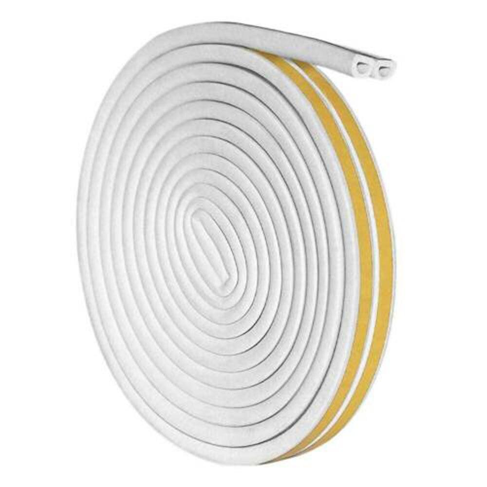 1pcs Seal Strip 6M Foam Self Adhesive Window Door Excluder Seal Strip Rubber Tape Weatherstrip Dustproof