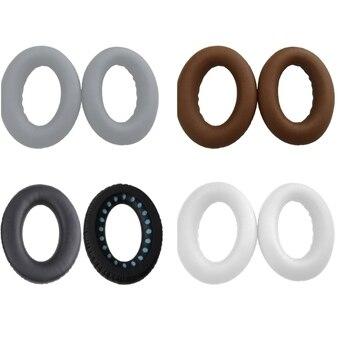 Değiştirme yastık yastık Earpads kulak pedleri kapak BOSE QC35 QC25 QC15 AE2 kulaklık bellek köpük kulak pedleri