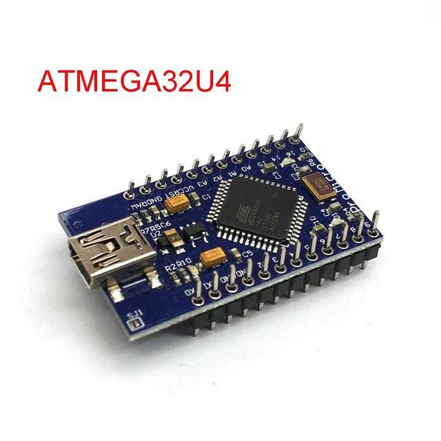 Mini USB ATmega32U4 Pro Micro 5 V 16 MHz Bord Modul/Leonardo ATMega 32U4 Controller Pro Micro Ersetzen pro Mini Für Arduino