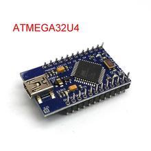 Mini USB ATmega32U4 Pro Micro 5 V 16 MHz โมดูล/Leonardo ATMega 32U4 Controller Pro   Micro เปลี่ยน pro Mini สำหรับ Arduino
