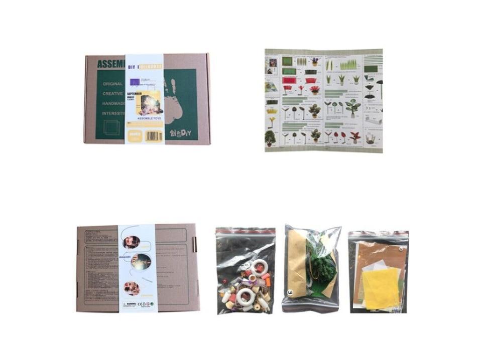 H093257f4eca147b08c05ff6c3163fb59v - Robotime - DIY Models, DIY Miniature Houses, 3d Wooden Puzzle
