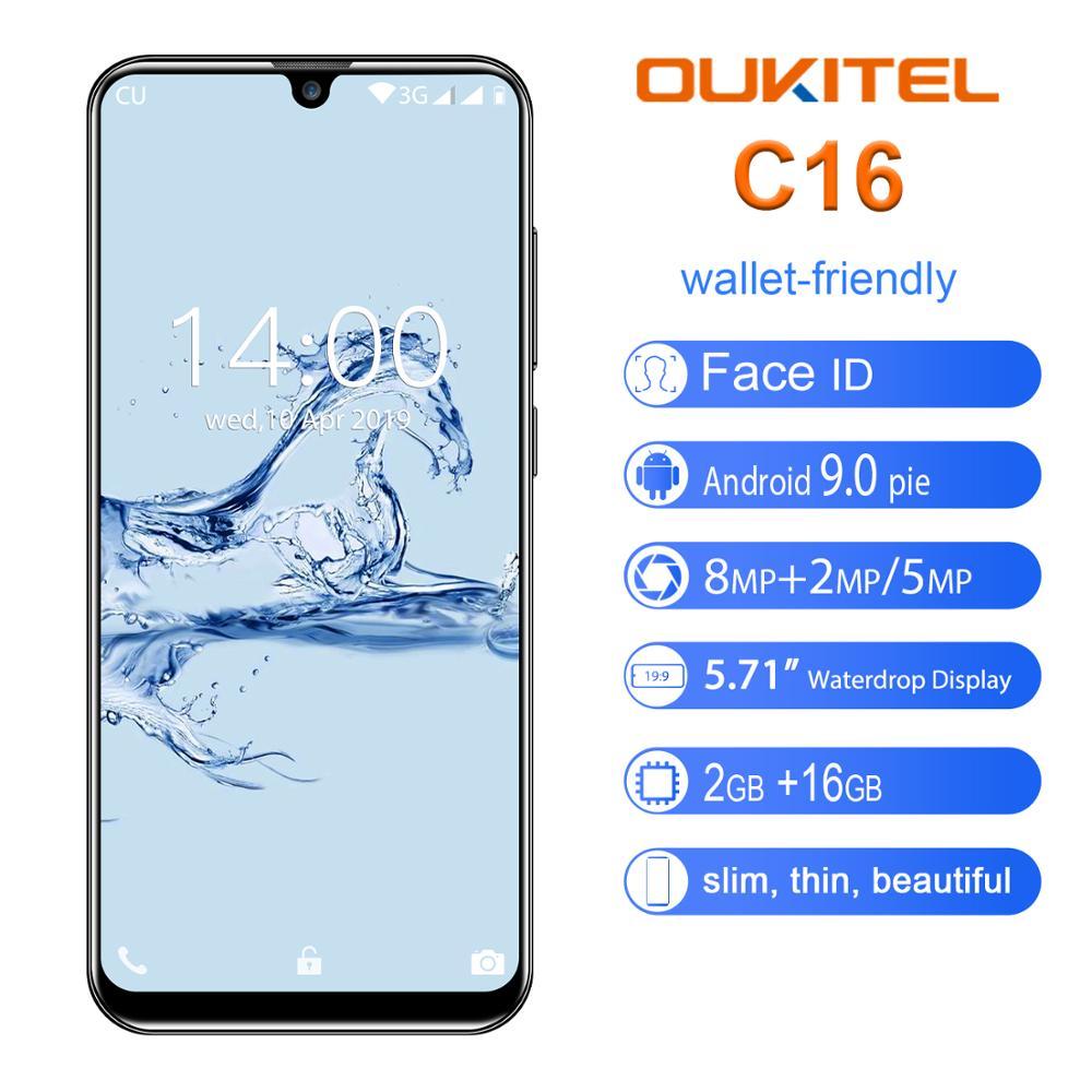OUKITEL C16 Smartphone 5.71