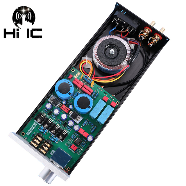 HIFI HD650 Refer To Lehmann Amp Circuit Amplifier Headphone Amplifier Earphone Amplifie