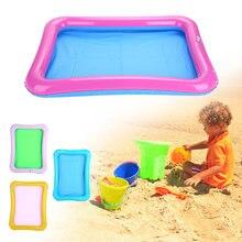 Многофункциональный надувной игровой песочный поднос для дома