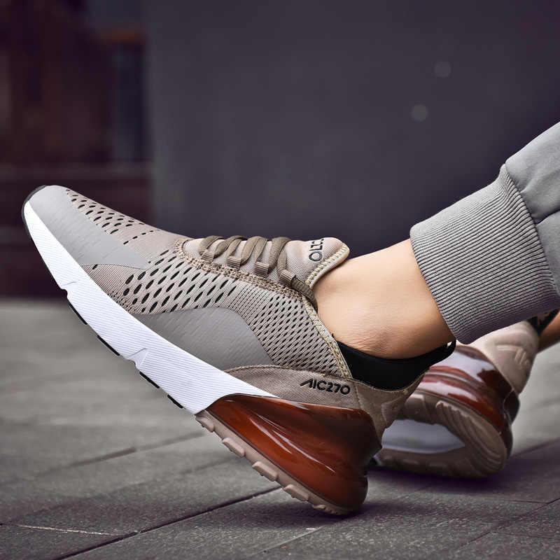 Erkek ayakkabısı 2019 Örgü Sneakers Erkek Açık Yürüyüş Yaz Koşu spor ayakkabı Erkekler Için Nefes Sneakers Ev