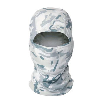 Tactical Camouflage Full Face Mask CS Game Army Hunting Riding Sports Helmet Lining Cap Outdoor Military Warm Hood 4